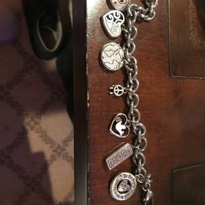 Brighton peace charm bracelet. Perfect